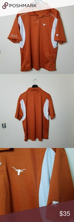 Texas Longhorns Polo Starter Texas Longhorns Polo Starter in excellent condition. Looks new. STARTER Shirts Polos