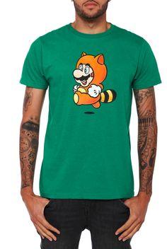 Nintendo Super Mario Bros. 3 Tanooki Suit T-Shirt   Hot Topic