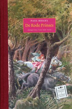 Paul Biegel   De Rode prinses   8+ omslag van één van mijn favoriete kinderboeken