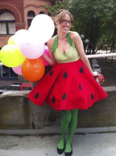watermelon costume!