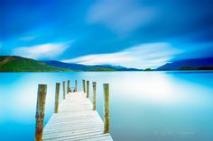 Photograph The Dream Jetty by Kevin Ainslie on Scotland, Mountains, Nature, Photography, Travel, Blue, Naturaleza, Photograph, Viajes
