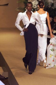 Yves Saint Laurent at Couture Spring 2001 - StyleBistro
