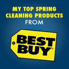 Let technology do the heavy lifting and make spring cleaning easy! #TechyClean #TechHeroes