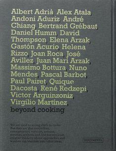 """«""""We, Chefs"""" contém vinte e uma conversas entre o autor e vinte e um chefs mundialmente reconhecidos e trinta e três palavras-chave. Este livro não tem receitas; é antes uma conversa entre as vozes dos chefs e as palavras-chave propostas pelo autor.»"""