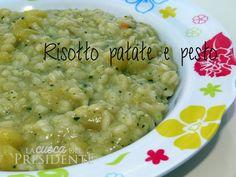 ricetta Risotto con patate e pesto