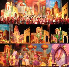 Aladdin sets