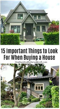 15 Important Things to Look For When Buying a House, Home Buying Tips Buying First Home, Home Buying Tips, Home Buying Process, First Time Home Buyers, Looking For Houses, House Ideas, Sell Your House Fast, Expensive Houses, Real Estate Tips