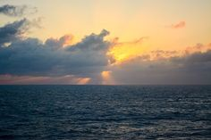 Even when its cloudy the sunsets at sea are some of my favorite in the world. I love watching the sun dip below the ocean to signal the end of the day.  #sunsets #cruiselife #cruising #travelfar #livetravelchannel #tlpicks #beautifulplaces #postcards #travelblogger #comebacknew #igtravel #canonbringit #beautifulmatters #solotravel #neverstopexploring #justgoshoot #optoutside #jetsetters #girlslovetravel #lpfanpics #natgeotravel #bestvacations #travelstoke #traveldeeper