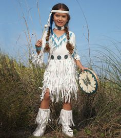 native american princess child costume-Chasing-fireflies...Gonna look GORG with our Minnetonkas:)