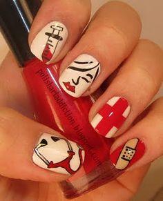 Nurse nails #nursing