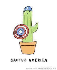 cactus america captain comic funny pics pictures pic picture image photo images photos lol