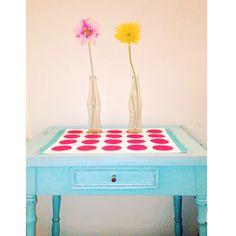 Vanity, Furniture, Home Decor, Little Cottages, Painted Makeup Vanity, Homemade Home Decor, Powder Room, Decoration Home, Vanity Desk