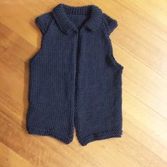 The Verity Vest. Made in 100% pure chunky wool. Adult size. Comes in many lovely colours