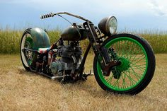 fossil rat rod motorcycle