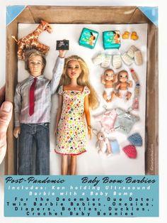 Barbie Doll Set, Barbie Toys, Beautiful Barbie Dolls, Barbie And Ken, Barbie Stuff, Muñeca Baby Alive, Barbie Funny, Barbie Happy Family, Barbie Playsets