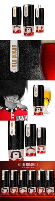 I'm not a drinker, but this is some pretty nifty beer can design :)