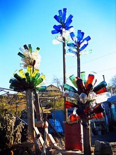 """Bottle Trees"" by l.a. is my constant, via Flickr"