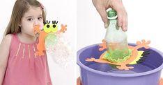 Pensa em algo que a criançada a-do-ra : bolhas de sabão! E esta ideia do Professor Sassá tá simplesmente demais, é o monstro das bolhas , f...
