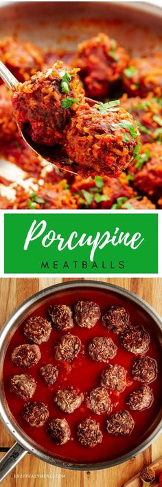 Porcupine Meatballs - Easy Peasy Meals