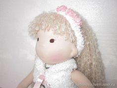 Купить Игровая текстильная куколка по вальдорфским мотивам в интернет магазине на Ярмарке Мастеров