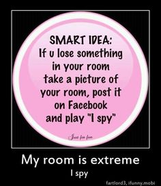 i would have to take a picture of every room in my house....lol