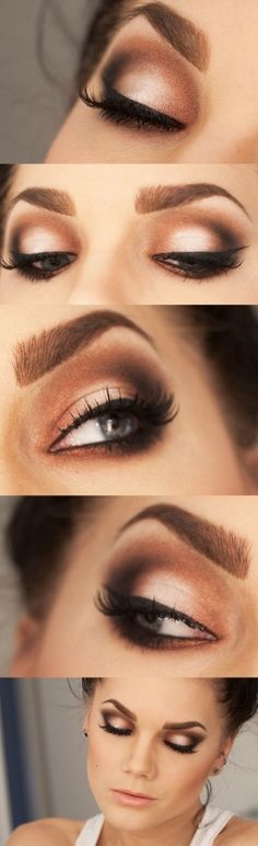 Love This simple smokey eye!! Beautiful Arbonne Cosmetics are Pure, Safe & Beneficial. Vegan, green, botanically based. Shop now:  www.marparks.arbonne.com