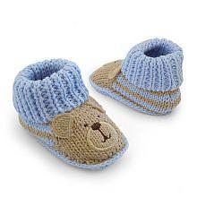 """Carter's Knit Bear Bootie - Blue(Newborn) - Carters - Babies """"R"""" Us"""