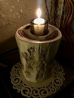 -Burning pen -Polttotyöt -Pyrography candleholder -Polttotyöt kynttilänpidike -Log -Pölli