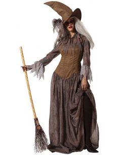 Disfraz de Bruja Realista para Adulto