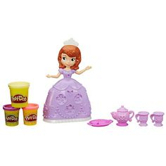 Disney's Princess Sofia the First Tea Party Set by Play-Doh, Multicolor