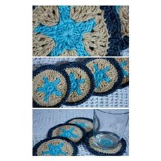 Posavasos. #crochet  #ganchillo #tejidos #artesanía #hechoenvenezuela #islademargarita #talentovenezolano #hechoamano #handmade #posavasos #recuerditos