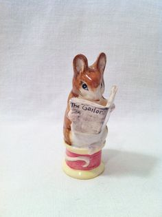 Beswick Beatrix Potter Figurine Tailor of Gloucester by Comforte, $40.00