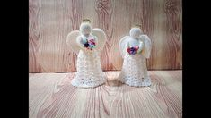 LINDO ANGEL DECORATIVO - YouTube Crochet Christmas, Winter, Christmas Ideas, Youtube, Christmas Ornaments, Tinkerbell, Amigurumi Patterns, Christmas Crafts, Ornaments