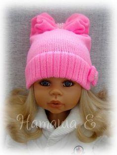 Knit Crochet, Crochet Hats, Doll Clothes, Winter Hats, Crochet Patterns, Knitting, Long Scarf, Knitting Needles, Caps Hats