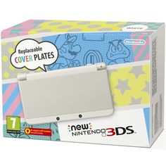 The New Nintendo 3DS 2015 console offers new customisation options new speed, new controls, new 3D viewing and a whole new experience! Pre-order your White Nintendo 3DS today while stocks last!