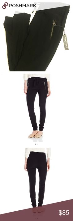 🆕➡️ Black Orchid LA Zippered Drawstring Pants LOVE these - so versatile - wear with heels and a cute top to go out or dress down with a tee and comfy flats for running errands. Brand new with tags -  these are a steal! Bundle and save ♥️♥️ Black Orchid Pants Ankle & Cropped