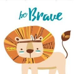 Paint by Number Kit - Framed Lion Be Brave Easy for Beginners Frame Included. by OurPaintAddictions Numbers For Kids, Acrylic Paint Set, Painted Cups, Paint By Number Kits, Tiny Prints, Kits For Kids, Creative Activities, Cool Artwork, Amazing Artwork