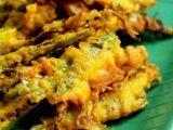 Fried okra patties - could add jalapeno
