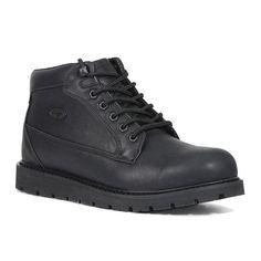 Lugz Gravel Men's Work Boots, Size: 8.5, Black