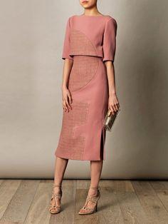 Roksanda Ilincic Ronstadt wool-crepe dress for women
