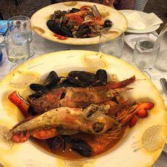 Serata indaffarata #food #foodporn #sardinia #sardegna #vacanze #mare #fish #pesce #holidays