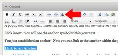 Anchor text is meaningful text that is a link to another page. Used in ranking algorithms.