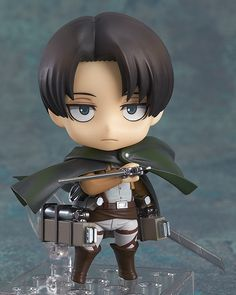 Hey... you lot... what the hell is going on here?  From the popular anime series 'Attack on Titan' comes the forth character to join the Nendoroid series - mankind's strongest solider, Levi! His standard expression, a combat expression and a condescending expression are all included! Just like Eren and Mikasa, he also comes with his Vertical Maneuvering Equipment and dual blades to be posed in ...