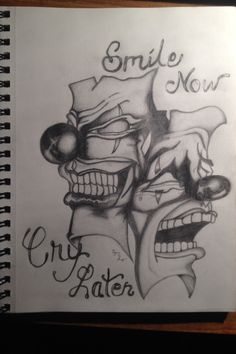 Smile now .. Cry later