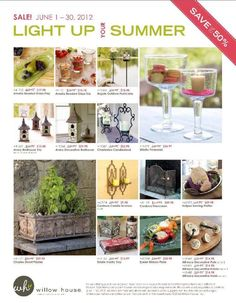 Sale! #1 Willow House, Decorative Bird Houses, Southern Living Homes, Glass Tray, Summer Sale, Sale Items, Light Up, Glass Beads, Cool Designs