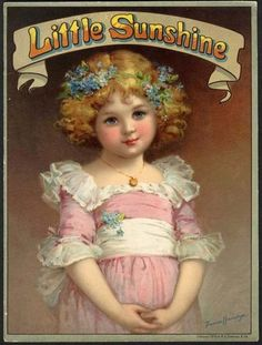 Little Sunshine 1913 Children's Book Frances Brundage Santa Claus | eBay