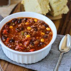 Best-Ever Quinoa Chili {vegan and gluten-free}