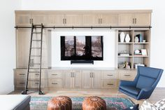 Built-in with Ladder || Studio McGee