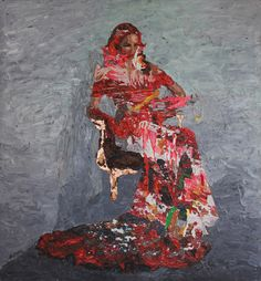 Hossam Dirar - Oil on Canvas Tale As Old As Time, Oil On Canvas, Fine Art, Artwork, Artist, Paintings, Inspiration, Painted Canvas, Art Work