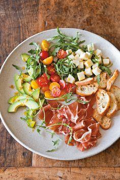 Antipasto Salad with Peperoncini Vinaigrette